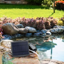 Anila solcelle luftpumpe til havedam