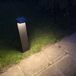Arwind solcellelampe (varmt hvidt lys)