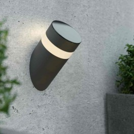 Bath Solcelle Væglampe med varmt hvidt lys-20