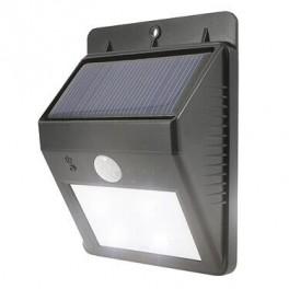 Eco Wedge solcelle væglampe med sensor