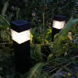 Falster solcellelamper