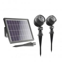 Globe Solcelle Spotlights (sæt af 2)-20