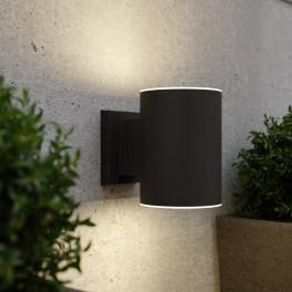 Grantham solcelle væglampe (antracit)