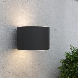 Gloucester solcelle væglampe