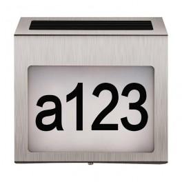 Husnummer med lys-20
