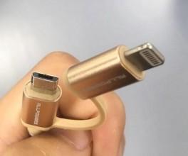 USB kabel micro USB apple lightning