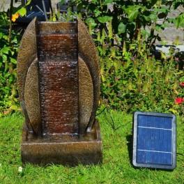 """Solcelle Fontæne med batteri """"Kilden i Stenen""""-20"""