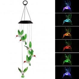 Solcelle uro med kolibrier