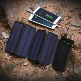 Solcelle powerbank (6W/10.000mAh) fra ALLPOWERS