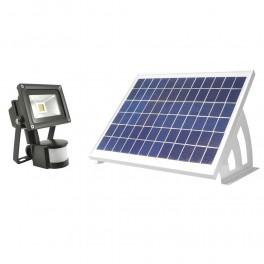 Solcelle projektør