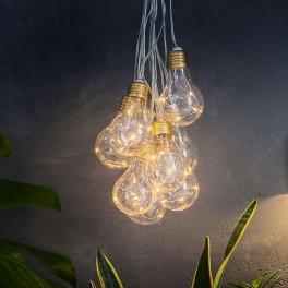 Lumify Vintage Solcelle Lyskæde med Pærer (10/20 pærer)-20