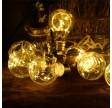 Solcellelyskæde med pærer