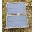 kompakt 3W solcelleoplader