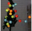 solcelle lyskæde med lanterner