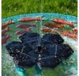 2,4W flydende solcellespringvand med batteri