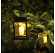 """Egholm Solcelle Lanterne med """"stearinlys"""""""