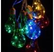 lumify lyskæde farvede pærer