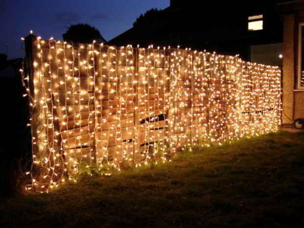 Væg lyskæder