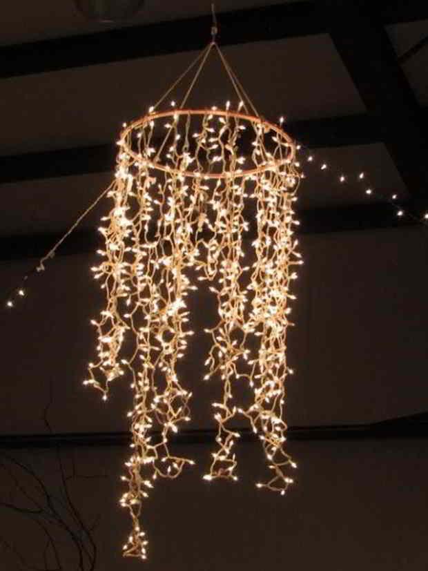 Lyskæde lysekrone