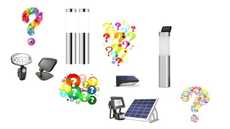 Valg af solcellelamper