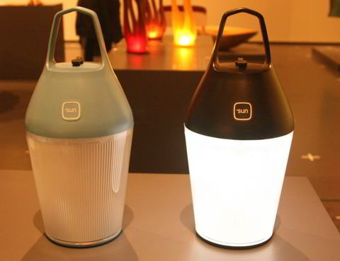 Nomad solcelle lampe