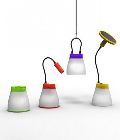 Bight solcelle lamper