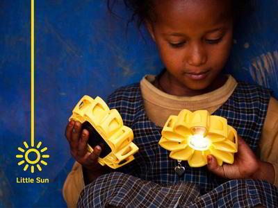Little Sun solcelle lampe